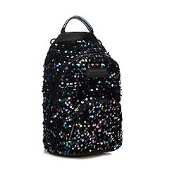 KENDALL + KYLIE - Multicoloured Sequinned 'Lucy' Mini Backpack