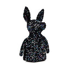 KENDALL + KYLIE - Black Sequinned 'Normie' Backpack