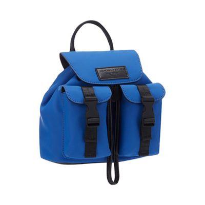 KENDALL + KYLIE Bright Blue  Poppy  Mini Backpack   Debenhams 00097b5d89