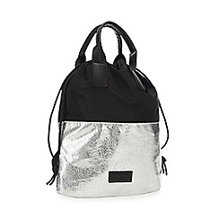 KENDALL + KYLIE - Silver 'Layla' Mini Backpack