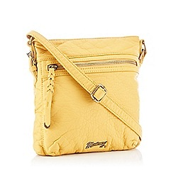 Mantaray - Yellow Cross Body Bag