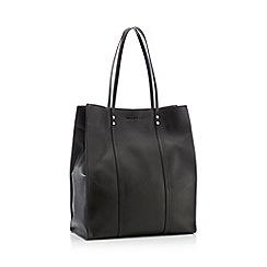 J by Jasper Conran - Black Leather 'Amsterdam' Shopper Bag