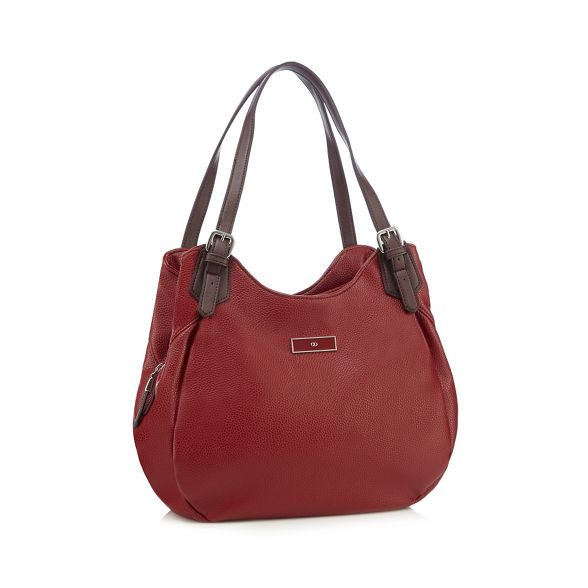 shoulder buckled Red bag Collection The wEt5SS