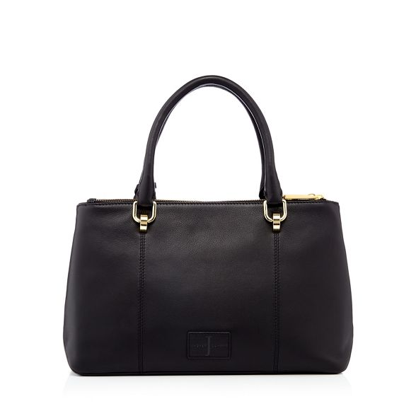 leather by bag tote Conran J Jasper Black 8FqIH