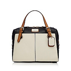 J by Jasper Conran - Black large grained grab bag