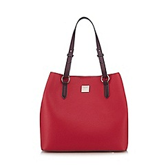 Principles - Pink logo plate shopper bag