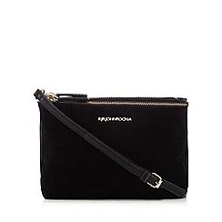RJR.John Rocha - Black textured organiser bag