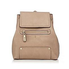 J by Jasper Conran - Tan logo backpack