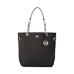 Star by Julien Macdonald - Black ring detail shopper bag