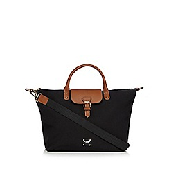 Principles - Black buckle detail tote bag