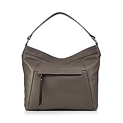 The Eighth - Grey leather hobo bag