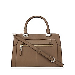 The Eighth - Taupe leather tote