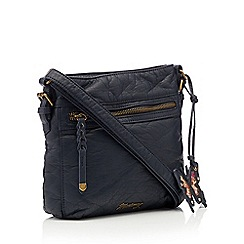 Mantaray - Navy washed cross body bag