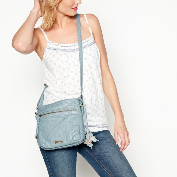 bag blue Mantaray cross Light washed body Zx1ZpAwq7T