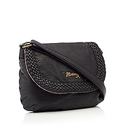 Mantaray - Black woven cross body bag 9f4adbd3c672b