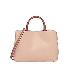 Fiorelli - Natural 'Bethnal' triple compartment tote bag