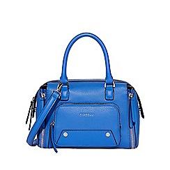 Fiorelli - Mini blue 'Downtown' bowler bag