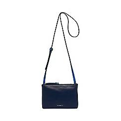 Fiorelli - Dark blue Bunton double compartment crossbody bag