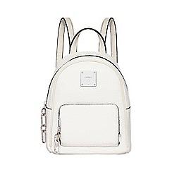 Fiorelli - White 'Bono' mini backpack