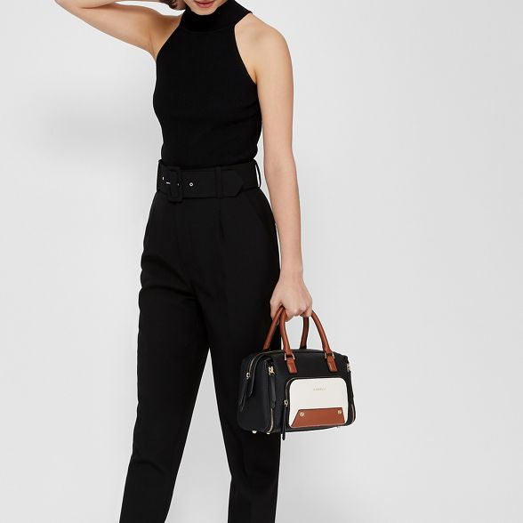 Black bag bowler 'Downtown' Fiorelli mini OHUgC6Hnq