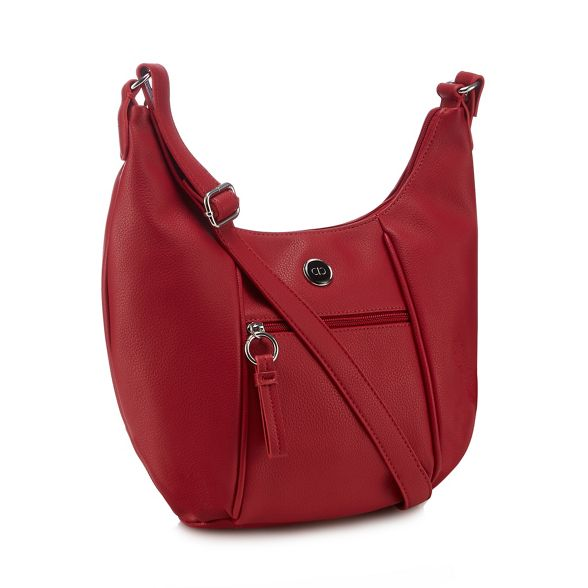 Collection bag body faux Red The leather cross d8qAvdw0