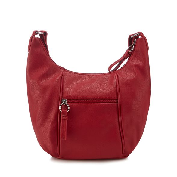 Collection body cross The leather faux Red bag wTqXHZv