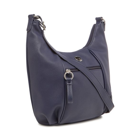 The detail bag Navy zip Collection shoulder CCr1q6B