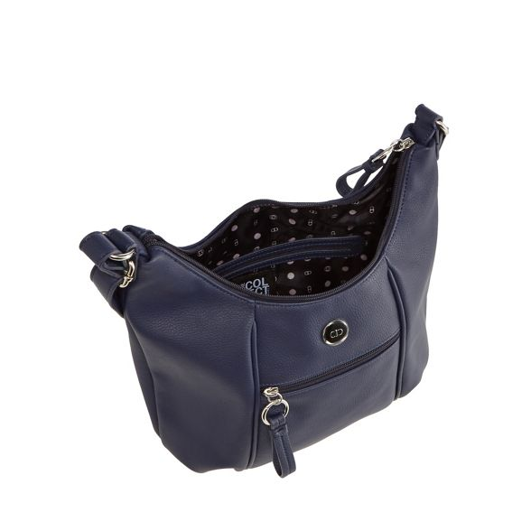 The bag zip Collection detail Navy shoulder Uv6qUr1T