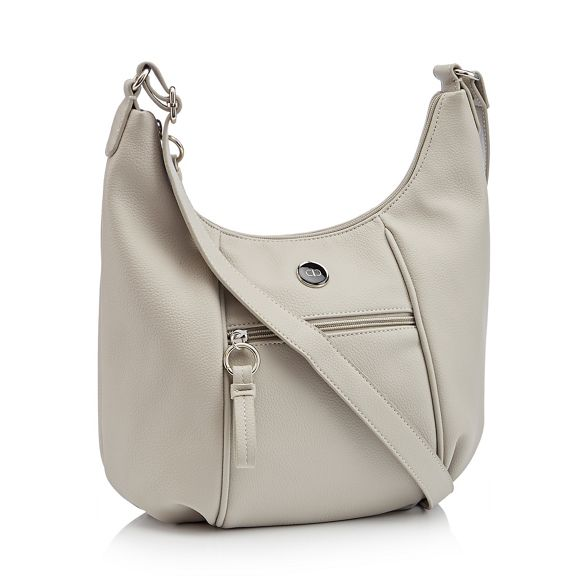 leather bag faux Grey The cross Collection body Aqn487ASw