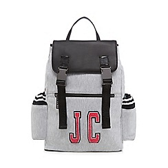 Juicy by Juicy Couture - Grey multi pocket backpack