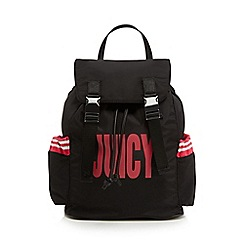 Juicy Couture - Black kinney logo backpack