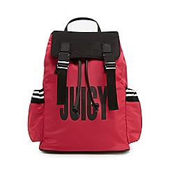 Juicy Couture - Bright pink kinney logo backpack