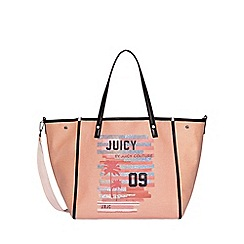 Juicy Couture - Pale peach 'Arlington' soft tote bag