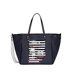 Juicy Couture - Dark blue 'Arlington' soft tote bag
