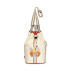 Juicy by Juicy Couture - Cream 'Crosby North South' duffle bag