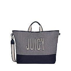 Juicy Couture - Navy canvas 'Parker' tote bag