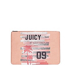 Juicy by Juicy Couture - Large pale peach 'Zoey' pouch