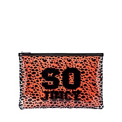 Juicy by Juicy Couture - Large multi-coloured 'Zoey' pouch