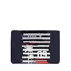 Juicy Couture - Large blue 'Zoey' pouch