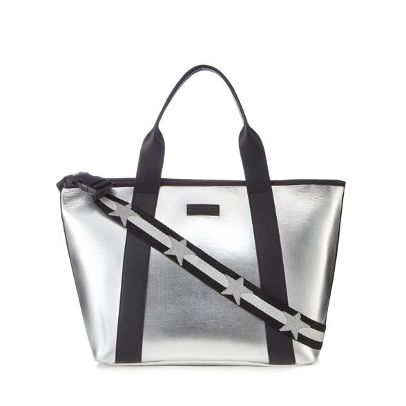 KYLIE bag 'Jazz' tote Silver large KENDALL OqAFz6ZPF