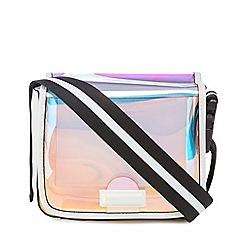 KENDALL + KYLIE - Multicoloured 'Hilary' iridescent cross body bag