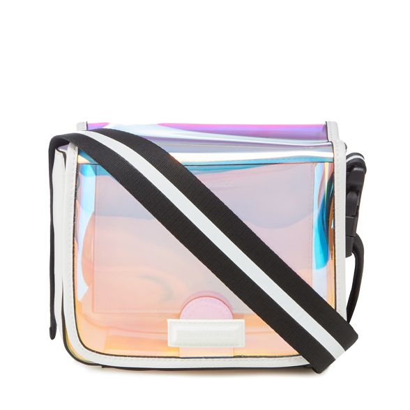 Multicoloured cross KENDALL 'Hilary' iridescent KYLIE bag body PPTnz