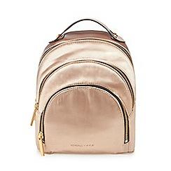 KENDALL + KYLIE - Light pink 'Sloane' satin mini backpack