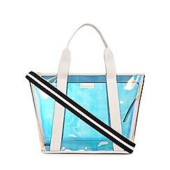 KENDALL + KYLIE - Metallic 'Jazz' tote bag