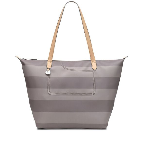 Radley large Taupe 'Pocket striped tote bag Essentials' RPrfnRZwxq
