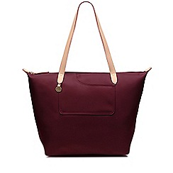 Radley - Wine red 'Pocket Essentials' large tote bag