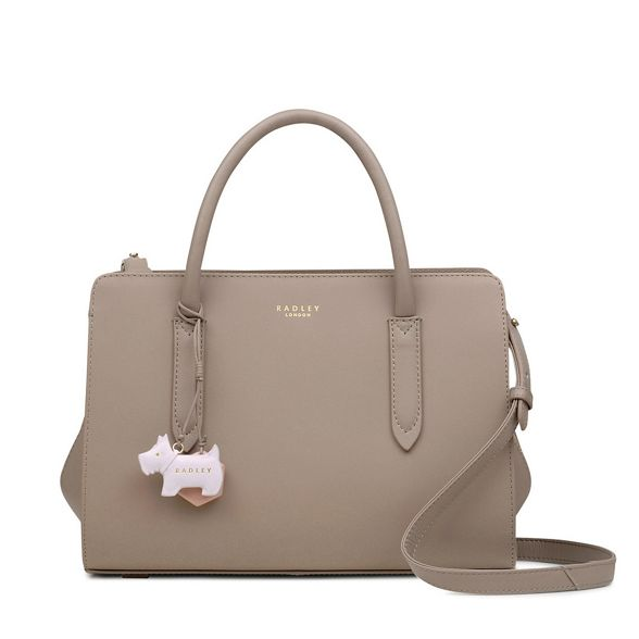 medium bag Radley multiway leather Street' Taupe grab 'Liverpool PcWvcxna