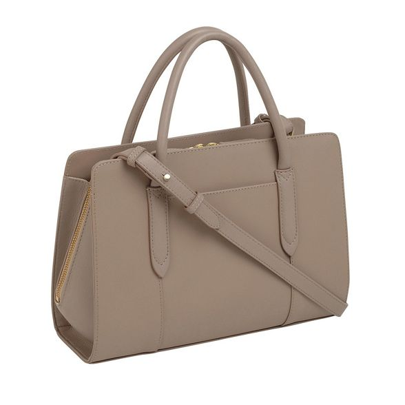 leather Taupe grab bag multiway medium Radley 'Liverpool Street' q50HwnnUxd
