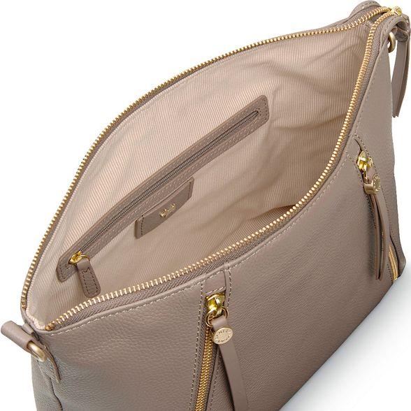 'Fountain medium leather Taupe multiway shoulder bag Road' Radley fSTqn