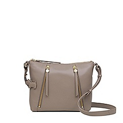 Radley Taupe Leather Fountain Road Small Crossbody Bag